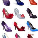 Обувки с ярки цверове
