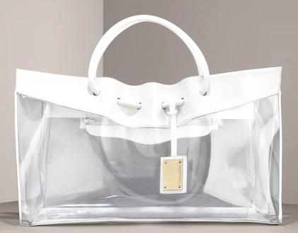 Прозрачна чанта