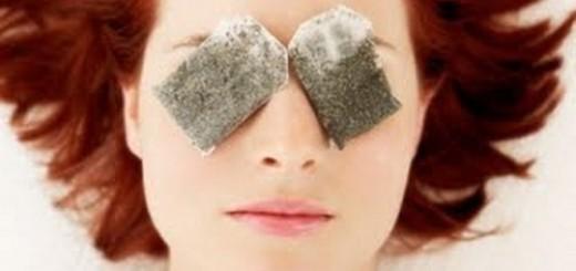 Чаени торбички под очите