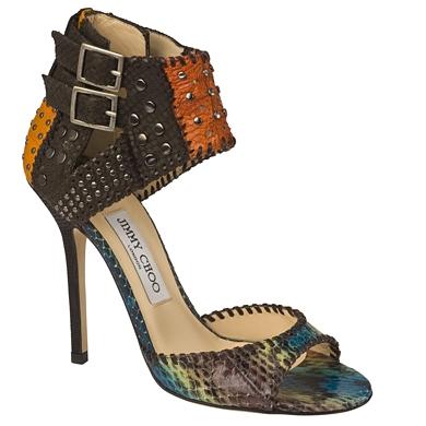 обувки с различни материи