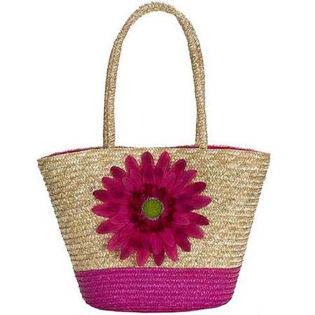 Чанта с формата на кошница