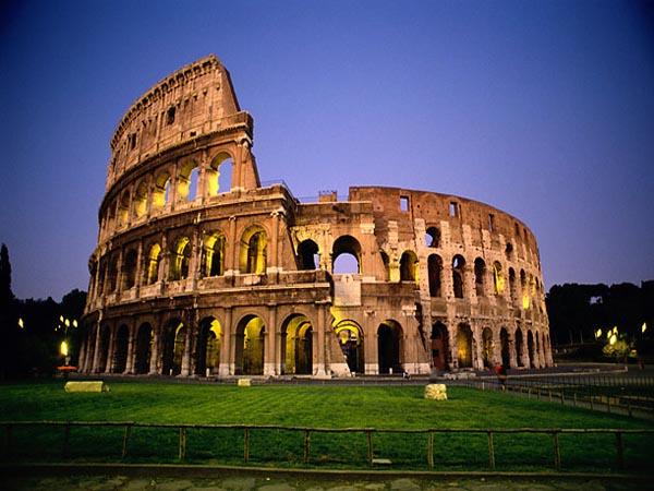 Колизеума в Рим