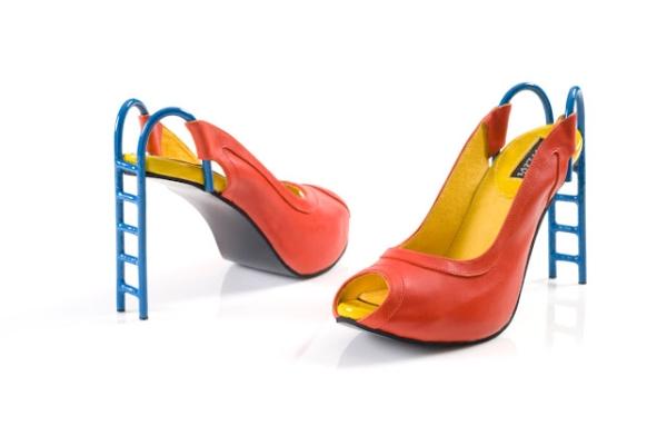 Обувки със стълбичка