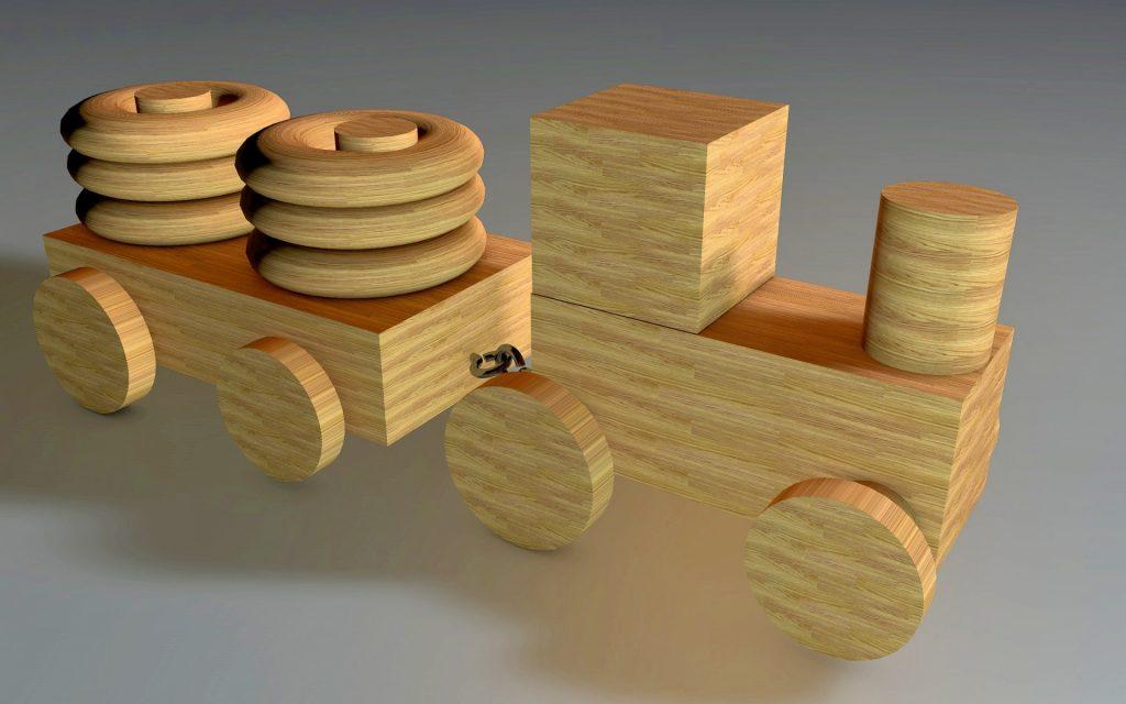 дървена играчка